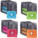 奈菲乐NAPHELE 大容量折叠旅行收纳袋 收纳包 行李收纳挂袋储物袋子 (三个装 颜色随机)