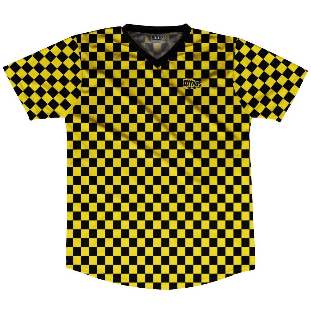 Ultras Micro Checkerboard Soccer Jersey