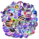 PC Hardware : Graffiti Stickers for Car, Laptop , Skateboard, Luggage , Waterproof Vinyl Decals for Motorcycle ,Bicycle,Bumper (50Pcs/pack Mixed Galaxy Style)