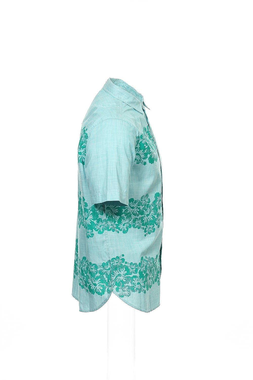 34aac5839 Amazon.com: Rocawear Light Green Hawaiian Button Down Shirt Sport , Size  3XLarge: Rocawear: Clothing