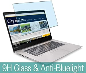 """Synvy Anti Blue Light Tempered Glass Screen Protector for Lenovo ideapad 320s / 320c 15.6"""" Visible Area 9H Protective Screen Film Protectors (Not Full Coverage)"""