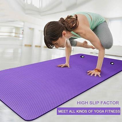BARCTELRT Colchoneta de Yoga Plegable,Estera de Yoga Gruesa ...