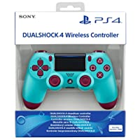 Manette sans fil Dual Shock 4 pour PS4 - berry blue