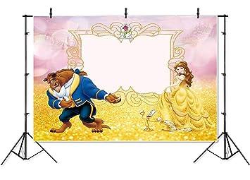 Fondo para fotografía de 7 x 5 cm, con diseño de la Bella y ...