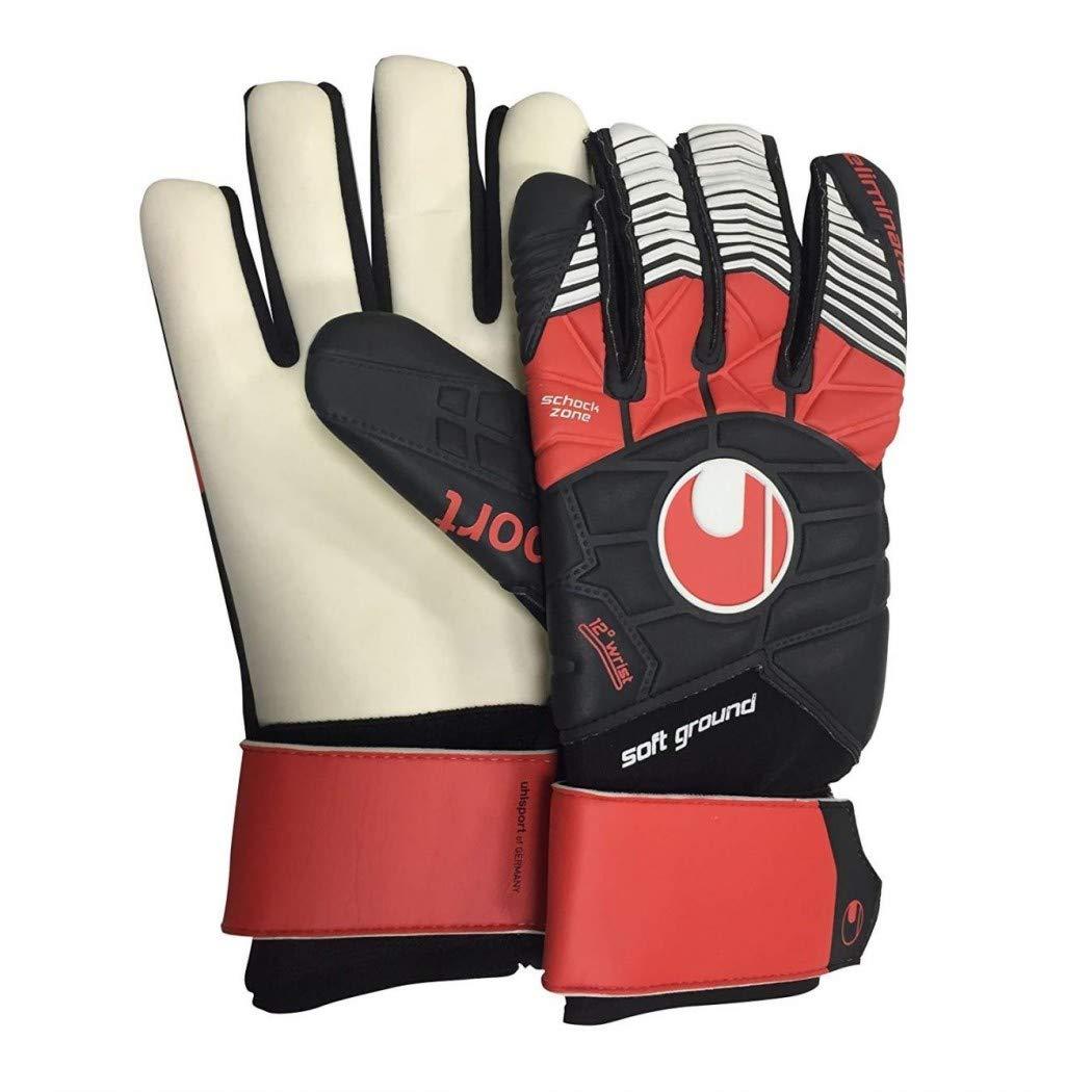 Uhlsport Eliminator Soft HN COMP. 100017402 Torwarthandschuhe schwarz, schwarz