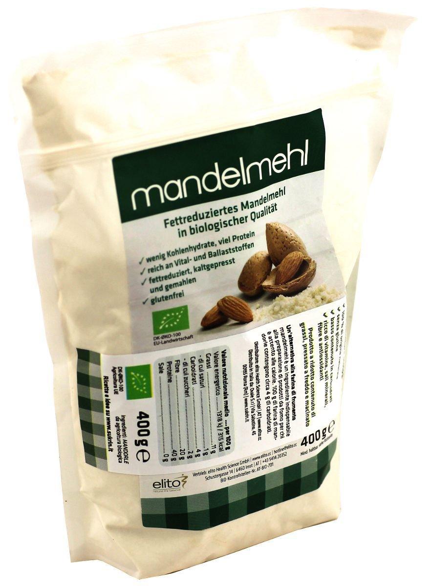 sukrin almendra Harina, 1er Pack (1 x 400 g): Amazon.es: Alimentación y bebidas
