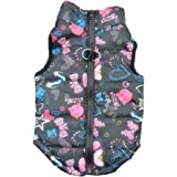 Howstar Pet Camouflage Cold Weather Coat, Small Dog Puppy Winter Padded Outfit Warm Garment