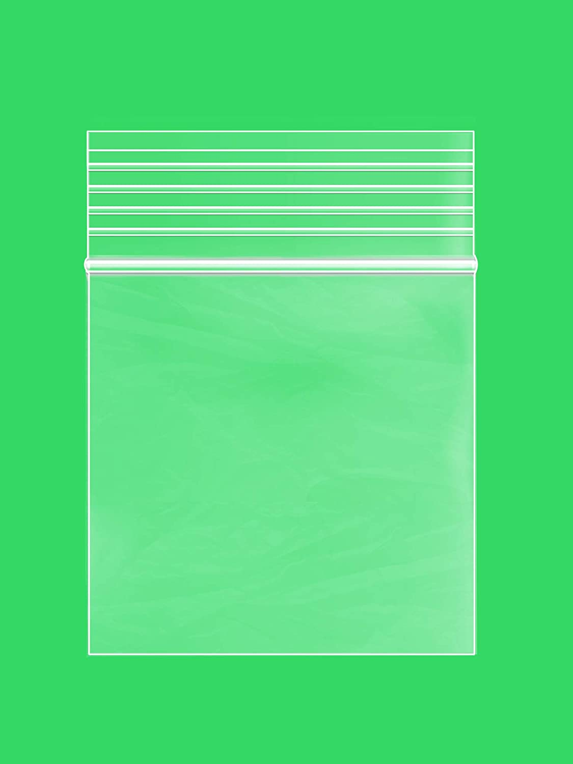 1.25 x 1.25 inches, 2Mil Clear Reclosable Zip Lock Bags, case of 1,000 GPI Brand