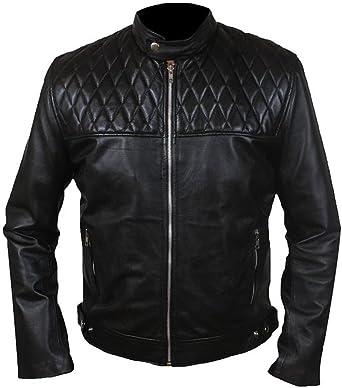 Classyak Mens Fight Fashion Club Leather Jacket