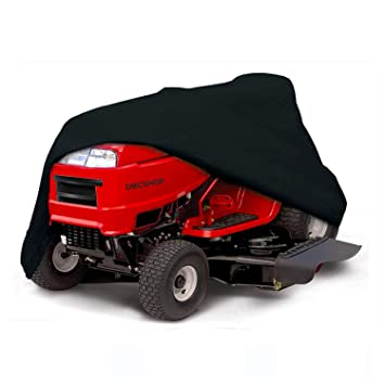 STARTWO Lawn Mower Cover, Heavy Duty Waterproof Universal Fit Mower Cover, UV Protection Tractor
