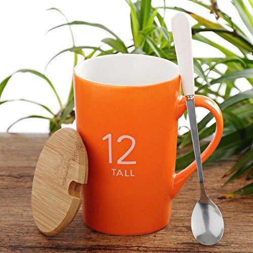 Minimalista Europea Mugcap tazas de Taza de cerámica con tapa ...