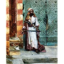 Standing Guard, Rudolf Ernst Fine Art Reproduction Rolled Canvas Print 24x29 in.