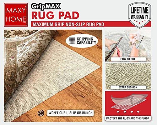 Non Slip Rug Pad Gripmax Premium Anti Slip Rug Pad For