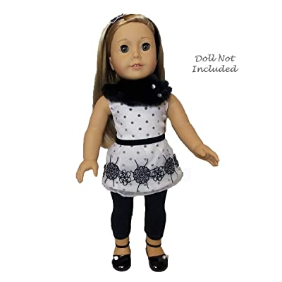 "American Girl Let It Snow Doll Outfit for 18"" Dolls (Doll not Included): Toys & Games"