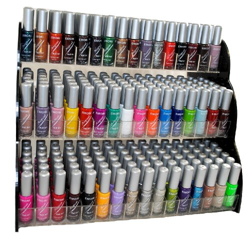 Amazon Emori TM All About Nail 50 Piece Color Lacquer Art Brush Style Combo Set 3 Sets Of Scented Polish Remover Magical Health