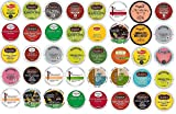 40 Count K Cup 2.0 and 1.0 Variety Tea Sampler Pack - ALL THE TOP BRANDS - Bigelows, Celestial Seasonings, Twinnings, Lipton's, Skinny Girl, Prospect, Higgin's & Burke, and Snapple