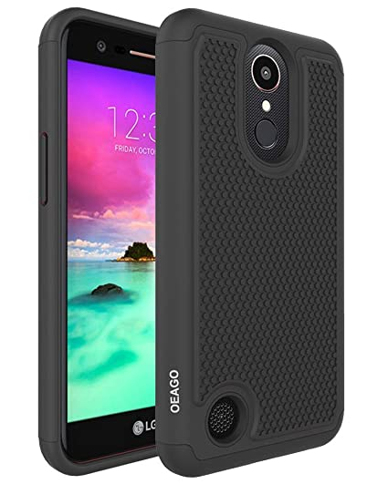 LG K20 Plus Case, LG K20 Case, LG K20 V K20V Phone Case, LG Harmony Case, LG Grace LTE Phone Case, OEAGO [Shockproof] Hybrid Dual Layer Defender ...