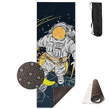 Vercxy Banana Spaceman Esterilla de Yoga - Alfombrilla de ...
