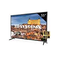 Televisore Led 55 Pollici Ultra HD 4K Smart TD Systems K55DLG8US. Risoluzione 3840 x 2160, HDR10, 3x HDMI, VGA, 2x USB, Smart TV.
