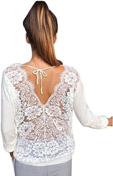 FAMILIZO Camisetas Mujer Fiesta Elegante Camisetas Mujer ...