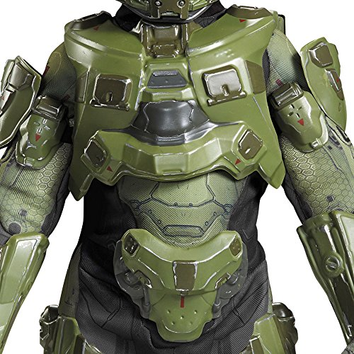 61n0pdrAkRL - Master Chief Ultra Prestige Halo Microsoft Costume, Large/10-12