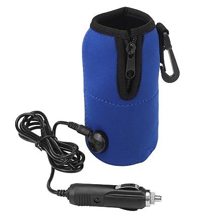 Zerodis Calentador Universal de Calentador de Taza de Leche de Agua para Bebé DC 12V para