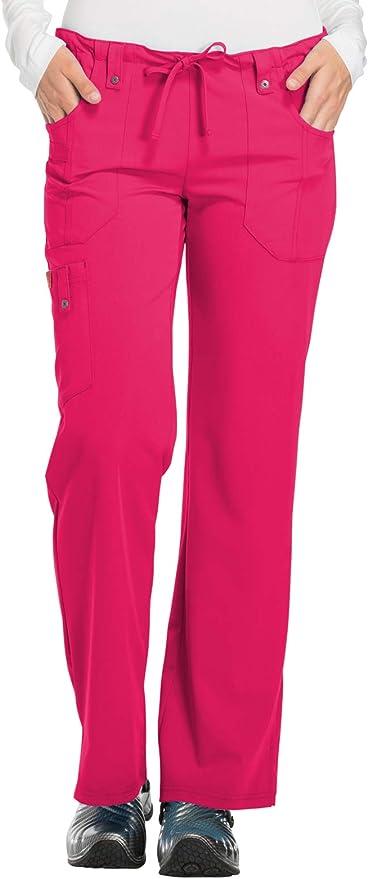 Choose SZ//color Details about  /Dickies Women/'s Xtreme Stretch Crew Neck Snap Fron