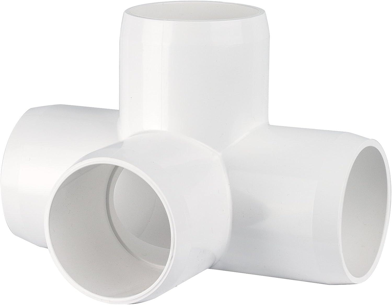 "PVC- 4 way L/T 1¼"" (Furniture Grade White)"