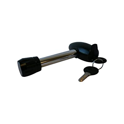 "MaxxHaul 70367: 5/8"" Forged Steel Rotating Hitch Lock with Anodized Aluminum Locking Head: Automotive"