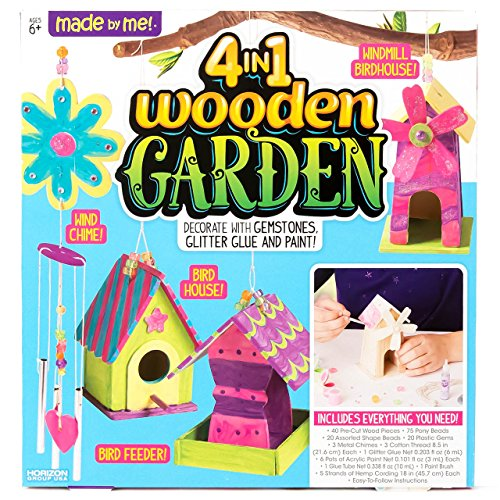 Made By Me 4-in-1 Wooden Garden by Horizon Group USA