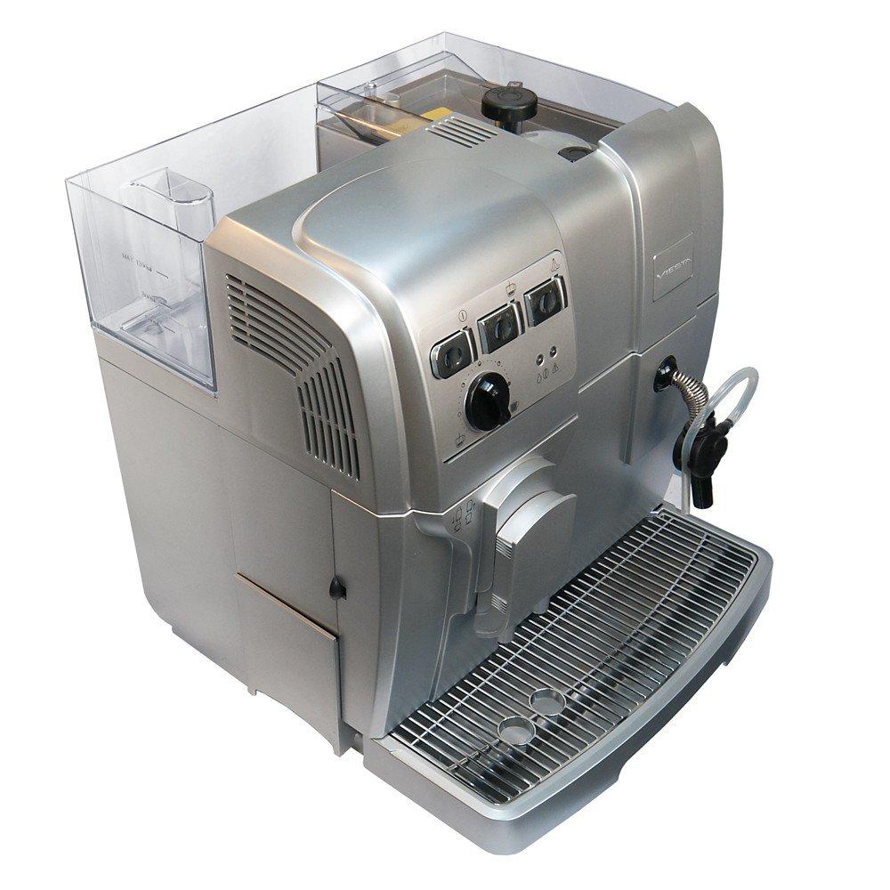 Viesta Eco100 - Cafetera automática, 1500 W, color plateado