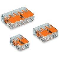 Deals on Wago 2 Port (10) 3 Port (10) 5 Port (5) 221 Splicing Connector