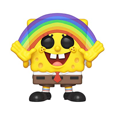Funko Pop! Animation: Spongebob Squarepants - Spongebob Rainbow: Toys & Games