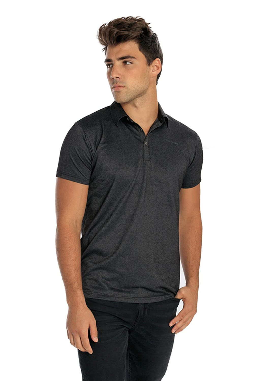 073f8e6db5637 PHUTURE Men s Carbon Polo Shirts at Amazon Men s Clothing store