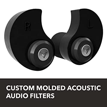 Decibullz - Custom Molded Professional Filters with Professional Acoustic Filter Technology, Perfect for Musicians,