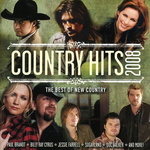 CD : Country Hits 2008 - Country Hits 2008 (CD)