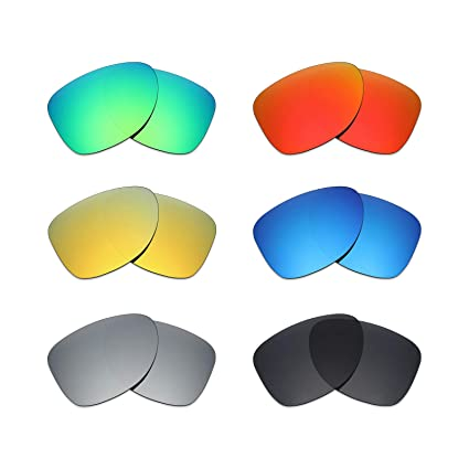 c47656db66d Image Unavailable. Image not available for. Color  Mryok 6 Pair Polarized Replacement  Lenses for Oakley Dispatch 2 Sunglass ...