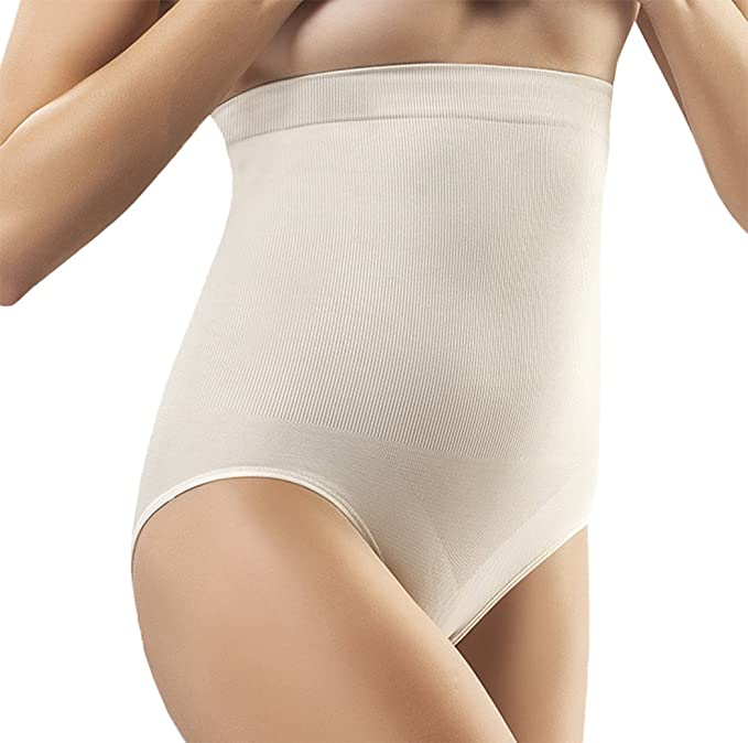 3e68fb17b56 FormFit Women s Body Shaper Seamless Firm High Waist Tummy Control Bodysuit  Shapewear Nude XX-Large at Amazon Women s Clothing store