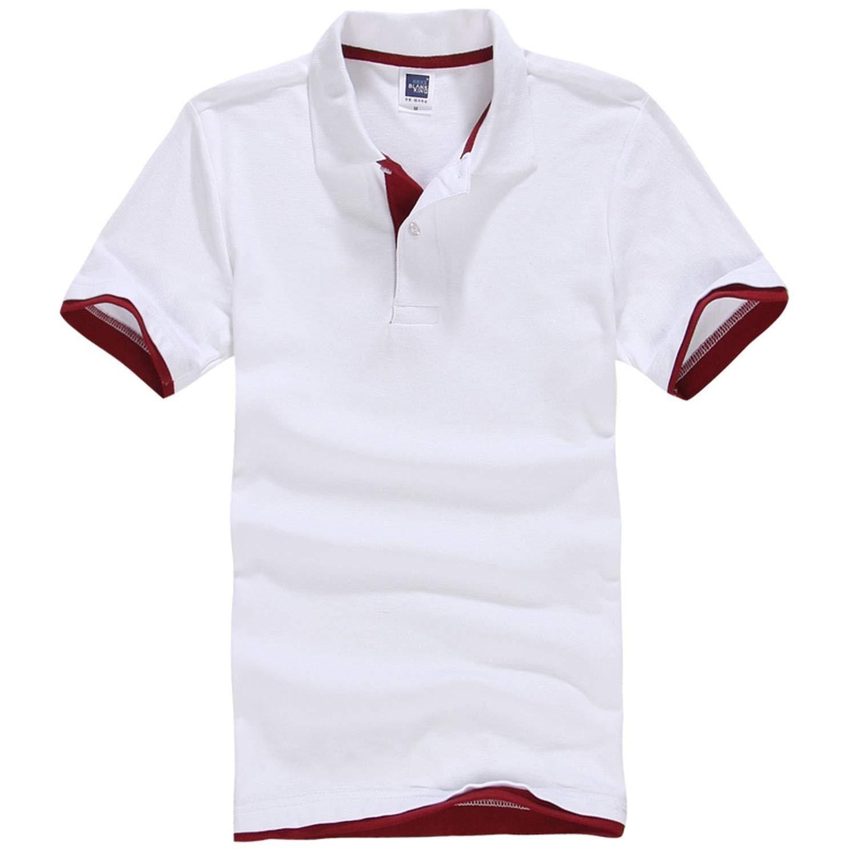 Mens Polo Shirt Cotton Short Sleeve Shirt Sportspolo Jerseys Golftennis Plus Size XS 3XL Camisa Polos Homme