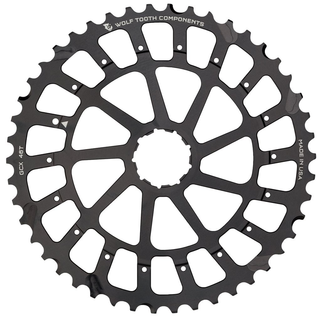 Wolf Tooth Components Giant Cog for SRAM XX1/X01 Black, 46t