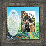 Personally Yours Rainbow Bridge, Loss of a Pet, Memorial Frame, 10x10 6766BW