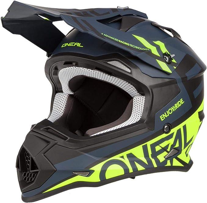 Adult Motocross Helmet and Goggles ONEAL 2 SERIES SPYDE 2020 Motorcycle Motorbike Quad Off Road ATV Downhill BMX Dirt Bike Trials Sports Enduro Race MX Kit