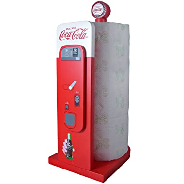 Coca-Cola Vending Machine: Kitchen Collectible Paper Towel Holder