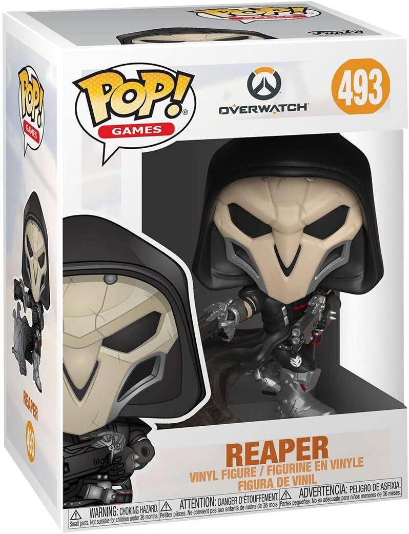 Funko- Pop Vinilo: Overwatch S5: Reaper (Wraith) Figura Coleccionable, Multicolor (37435): Amazon.es: Juguetes y juegos