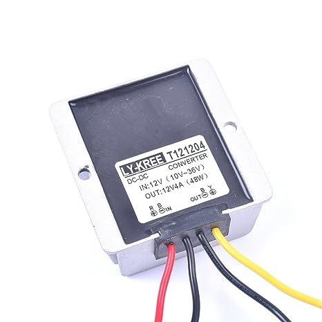 Strange Amazon Com Car Dc 12V 4A Voltage Stabilizer Surge Protector Power Wiring Digital Resources Pelapshebarightsorg