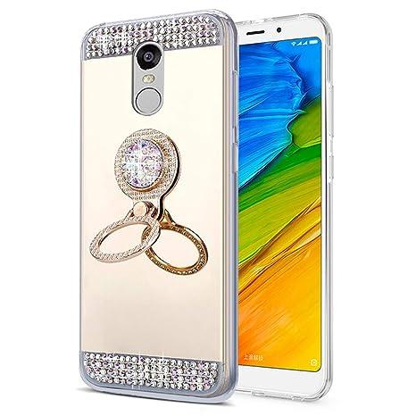 EINFFHO Carcasa XiaoMi Redmi 5, Elegant Glitter Bling ...