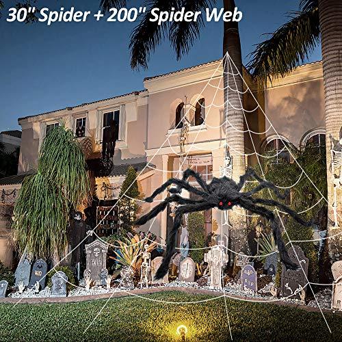 2-Pack Halloween Spider Web(200