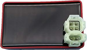 Tuzliufi Replace CDI Box Honda TRX 300 Fourtrax FW TRX300 TRX300FW 1988 1989 1990 1991 1992 1993 30410-HC4-770 30410-HC4-003 30410-HC5-970 30410-HC5-971 New Z180
