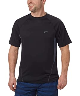 0429e02705 Amazon.com: Speedo Women's Long Sleeve Rashguard Swim T Shirt (Plus ...