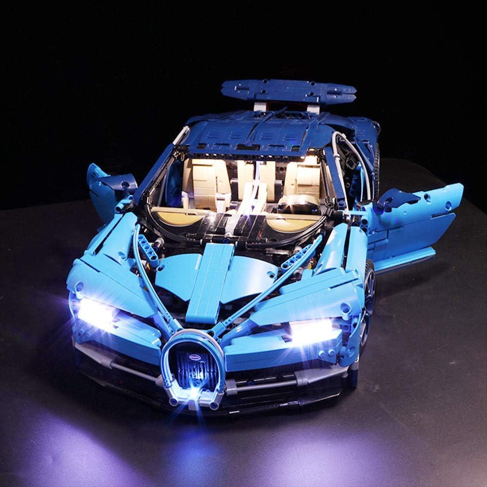 Lights Only Vonado Led Light Set for Lego 42083 Compatible 20086 Bugatti Chiron Technic Race Car Toys